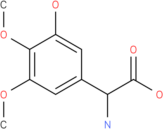 Amino-(3-hydroxy-4,5-dimethoxy-phenyl)-acetic acid
