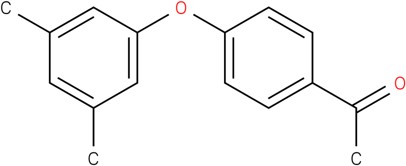 1-[4-(3,5-dimethyl-phenoxy)-phenyl]ethanone