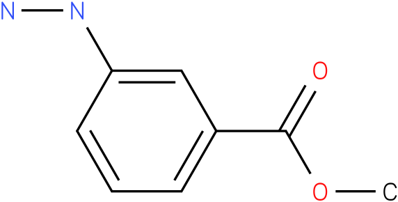 3-Hydrazino-benzoic acid methyl ester
