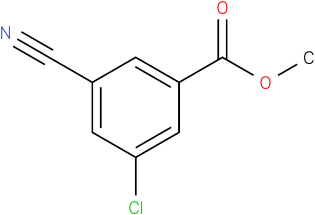 methyl 3-chloro-5-cyanobenzoate