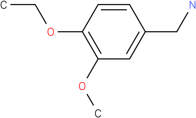 3-Methoxy-4-ethoxybenzylamine