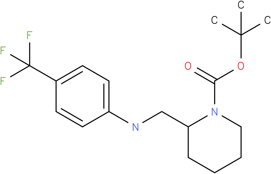 1-Boc-2-[(4-Trifluoromethyl-phenylamino)-methyl]-piperidine