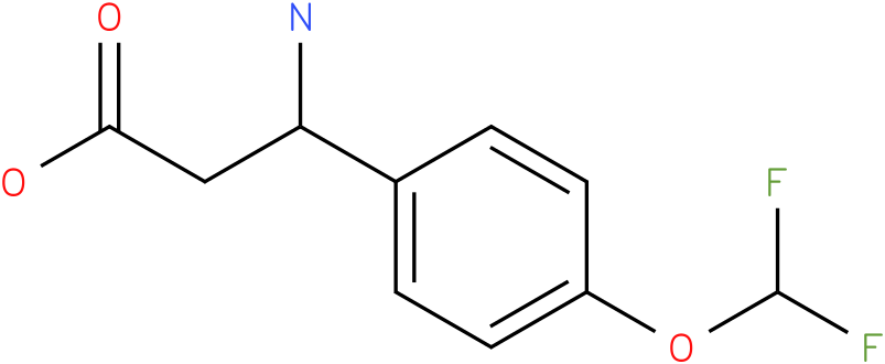 3-Amino-3-(4-difluoromethoxy-phenyl)-propionic acid