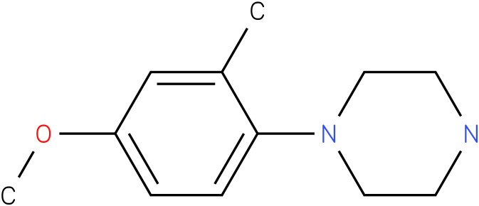 1-(4-methoxy-2-methyl-phenyl)-piperazine