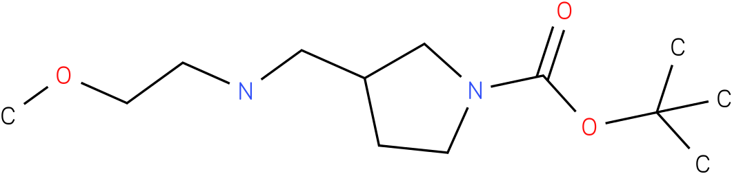 1-Boc-3-[(2-Methoxy-ethylamino)-methyl]-pyrrolidine