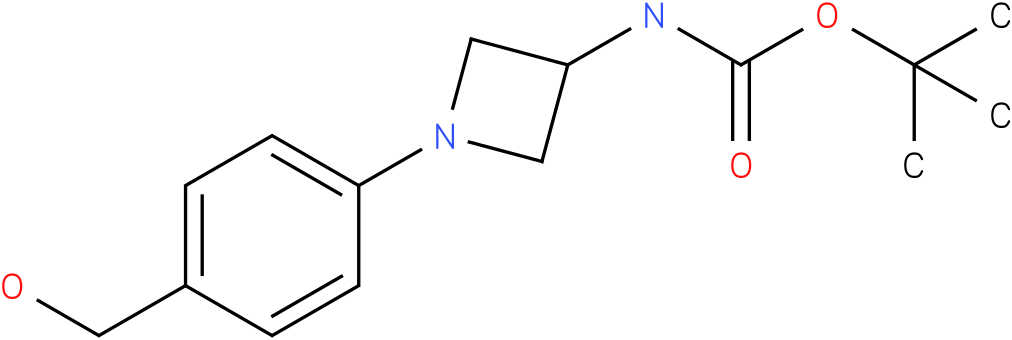 [1-(4-hydroxymethyl-phenyl)-azetidin-3-yl]-carbamic acid tert-butyl ester