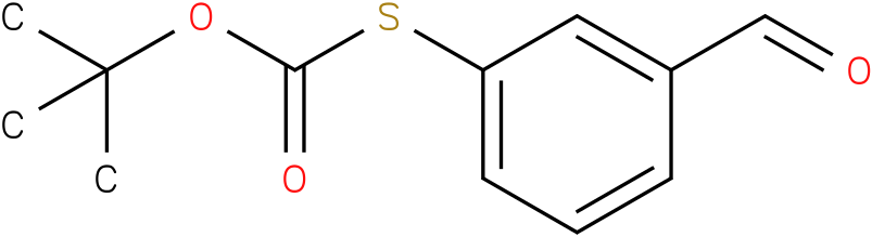 thiocarbonic acid o-tert-butyl ester S-(3-formyl-phenyl) ester