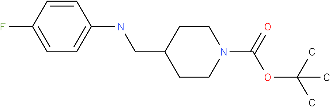 1-Boc-4-[(4-Fluoro-phenylamino)-methyl]-piperidine
