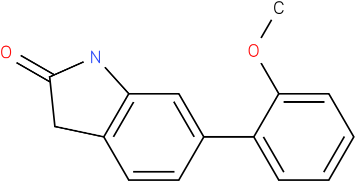 6-(2-methoxy-phenyl)-1,3-dihydro-indol-2-one