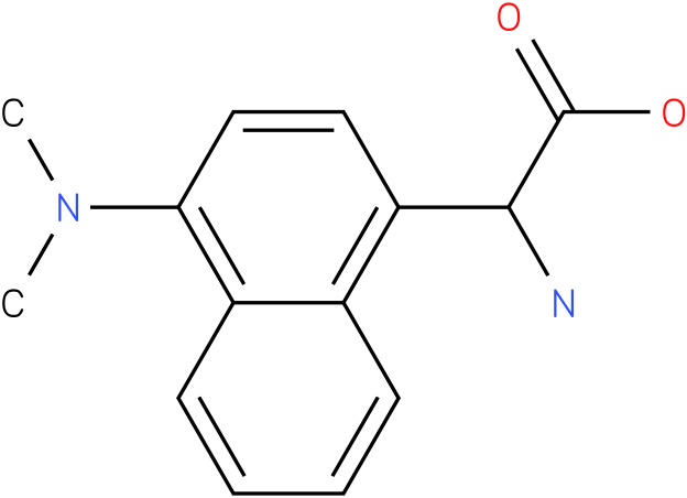 Amino-(4-dimethylamino-naphthalen-1-yl)-acetic acid
