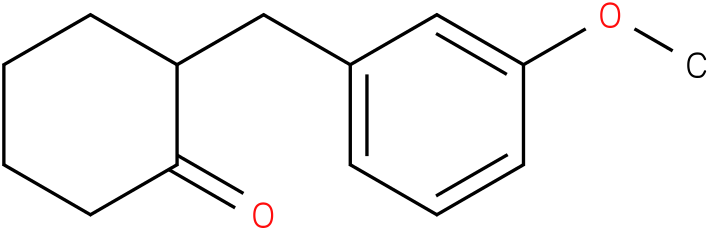 2-(3-methoxybenzyl)cyclohexanone