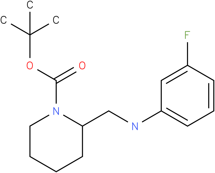 1-Boc-2-[(3-Fluoro-phenylamino)-methyl]-piperidine