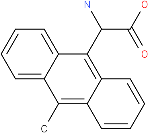 Amino-(10-methyl-anthracen-9-yl)-acetic acid