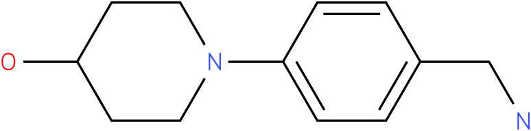 1-(4-aminomethyl-phenyl)piperidin-4-ol