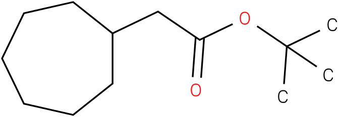 tert-butyl 2-cycloheptylacetate