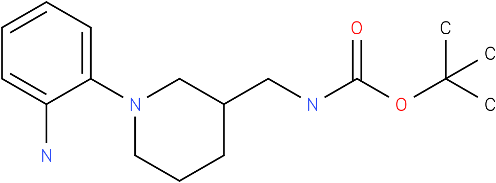 [1-(2-amino-phenyl)-piperidin-3-ylmethyl]-carbamic acid tert-butyl ester