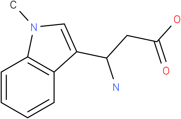 3-Amino-3-(1-methyl-indol-3-yl)-propionic acid