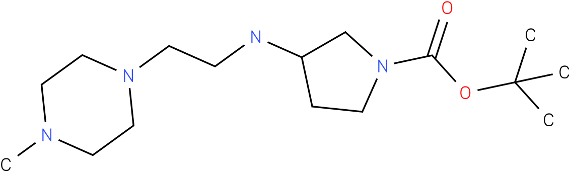 1-Boc-3-[(4-Methyl-piperazin-1-ylethyl)-amino]-pyrrolidine