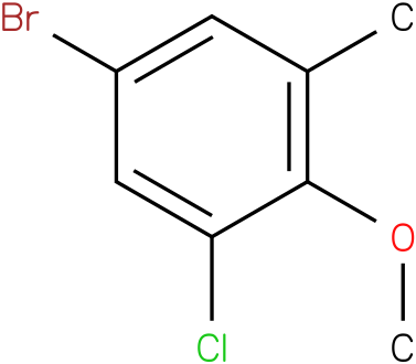 5-bromo-1-chloro-2-methoxy-3-methylbenzene