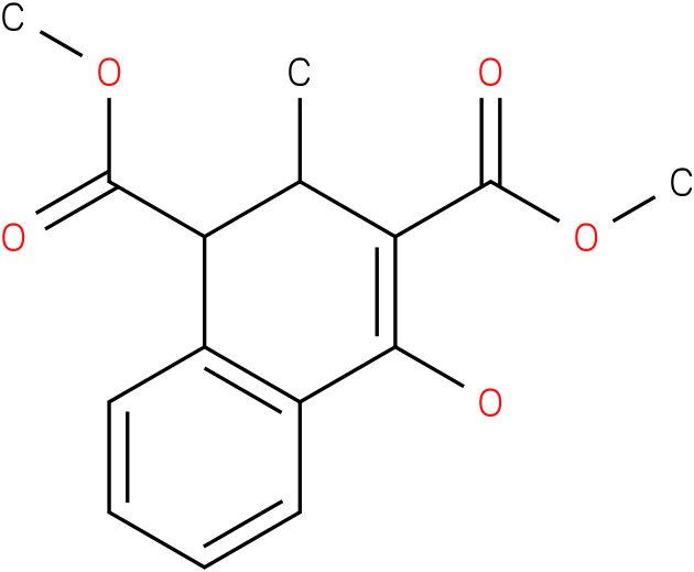 1,3-Naphthalenedicarboxylic acid, 1,2-dihydro-4-hydroxy-2-methyl-, 1,3-dimethyl ester